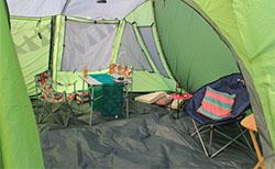 Tenha uma Barraca de Camping Grande o Suficiente