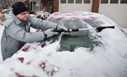 capa de carro à prova de neve