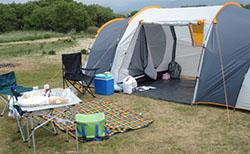barracas de camping para famílias