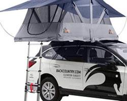 barraca para teto de carro