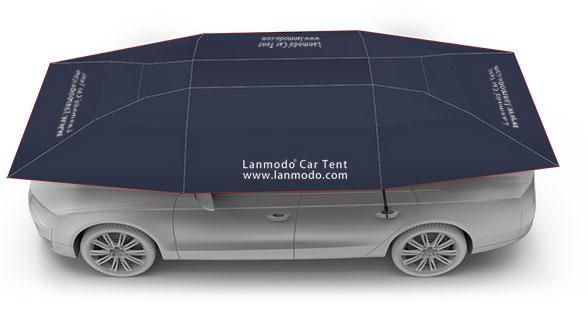 Tenda Para Carros Semi-automática 4 Estações Lanmodo Pro